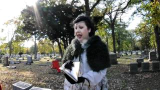 2010-OakParkRiverForestHistorical-Cemetery-Walk-Oct-17th- 046.AVI