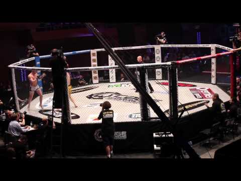 James Gallagher vs Matt Mullen Cage Warriors 70 Highlights