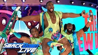 The New Day Returns With A Warning For The Usos SmackDown LIVE May 30 2017