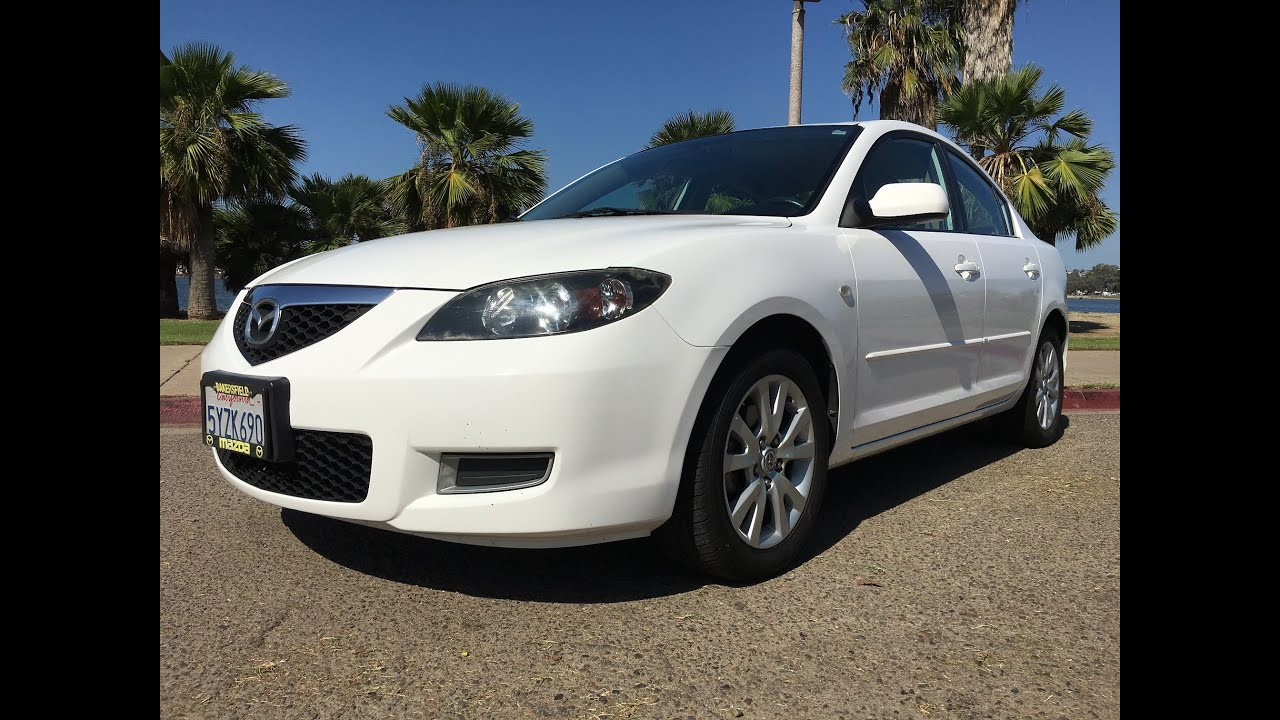 07 mazda 3 for sale - 2007 Mazda 3 Full Walk Around 2 0l 4cyl Sedan Automatic Clean Title For Sale San Diego