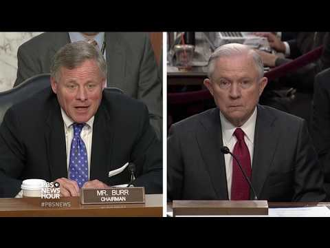 Burr asks Sessions to provide more documents to substantiate testimony