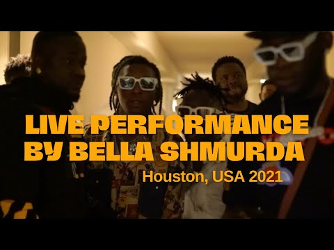 Bella Shmurda live   Houston USA 2021   Afrobeats Live Performance