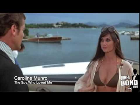 Bond Girls Caroline Munro Martine Beswick Interview James Bond Radio Podcast 051
