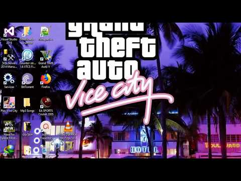 How to create own al radio station in Gta Vice city game
