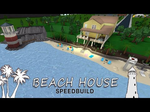 roblox-bloxburg-|-beach-house-speedbuild