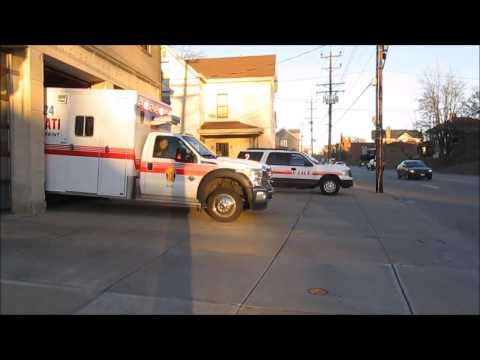 Cincinnati Medic 24 Responding