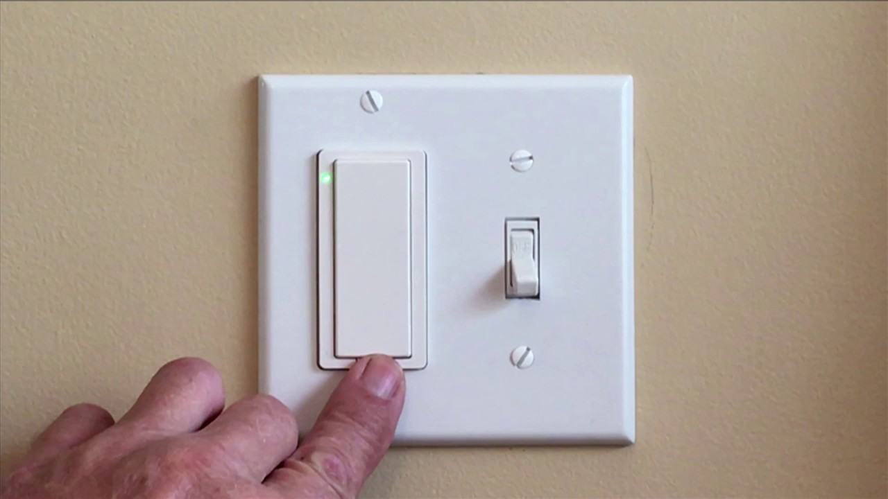 Learn How To Reset Wi Fi Smart In Wall Light Switch Youtube