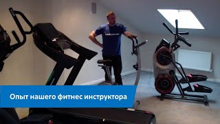 постер к видео Сколько калорий сжигается на велотренажере. Опыт нашего фитнес инструктора.