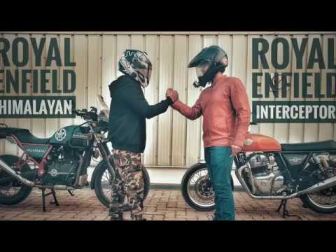 WHICH ROYAL ENFIELD SHOULD YOU BUY?| INTERCEPTOR 650 AND HIMALAYAN| COMPARISON  VIDEO