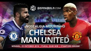 Cuplikan Gol Chelsea Vs Man United 4-0 Extended Highlights Goles, 23-10-2016