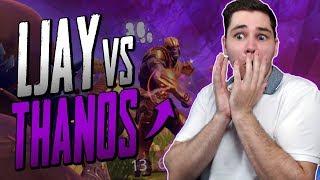 FORTNITE BATTLE ROYALE | LJAY VS THANOS!