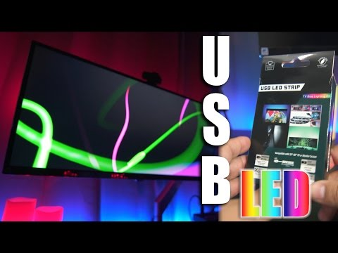 Best USB LED Strip For TV or Monitor /Amazon