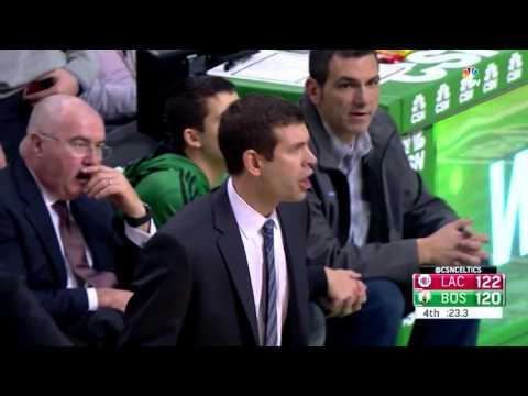 Brad Stevens gets as mad as he has never been before over a bad call (02/10/2016)