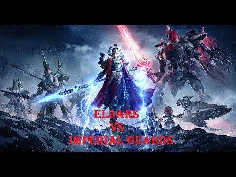 warhammer 40000 eldars vs imperial guards