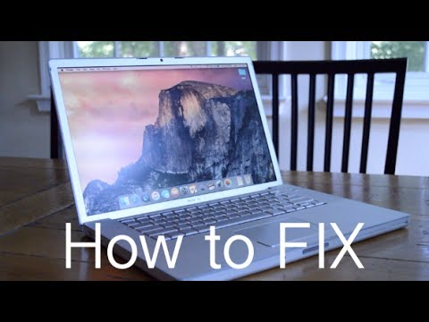 2008 Macbook Pro Graphics Issue Explained And How To Fix It Youtube