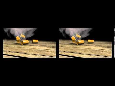 Stereoscopy - cinema 4d stereoscopic shells