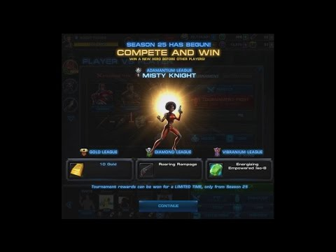 Marvel: Avengers Alliance: PvP Season 25 First Look And Overview