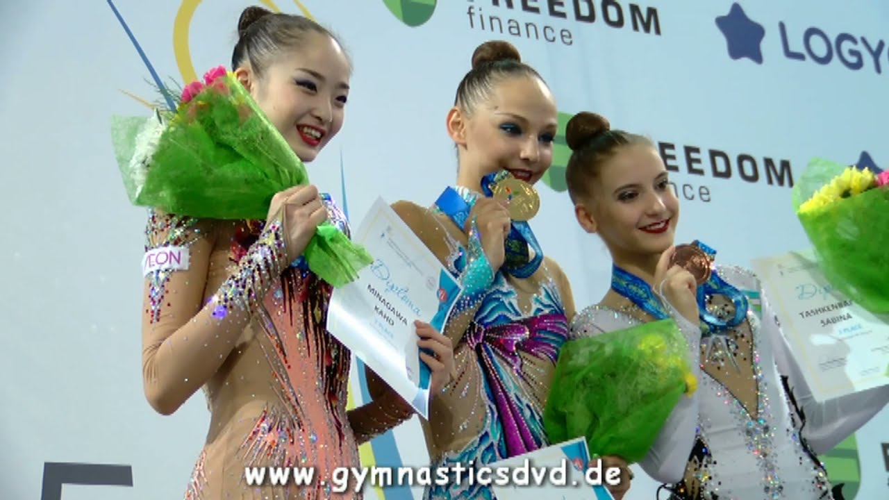 Asian Championships Astana 2017 - Senior All Around Top 3