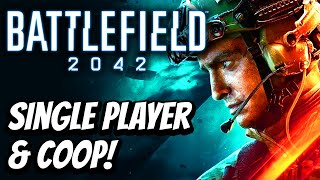 Battlefield 2042 Single Player and Coop Details! Map Sizes Comparison!