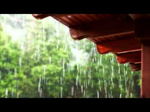 RAIN ON A TIN ROOF | Relax, Meditate, Sleep. 10 Hours Rain S