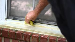 Repeat youtube video DROP-OFF Vinyl Siding Cleaner Video (Window Sill Mildew)