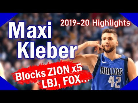 Maxi Kleber. The other stud from Wurzburg, Germany