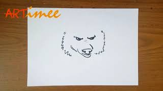 How to Draw a Bear Face