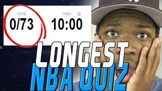 LONGEST NBA QUIZ EVER! | KOT4Q
