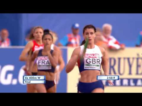 Womens 4x400m Final - European Athletics Championships 2016