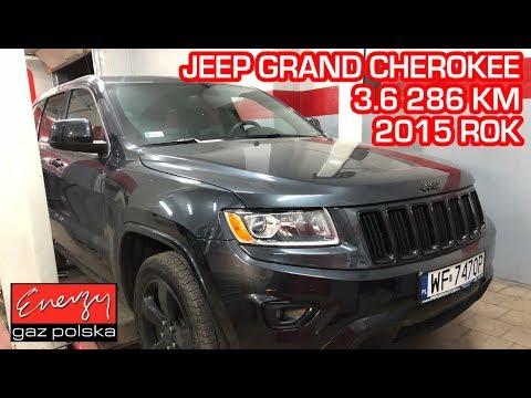 Montaż LPG Jeep Grand Cherokee z 3.6 268KM 2015r w Energy Gaz Polska na gaz BRC SQ P&D