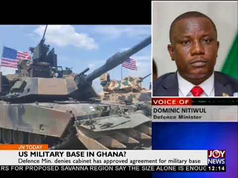 US Military Base In Ghana? - Joy News Today (20-3-18)