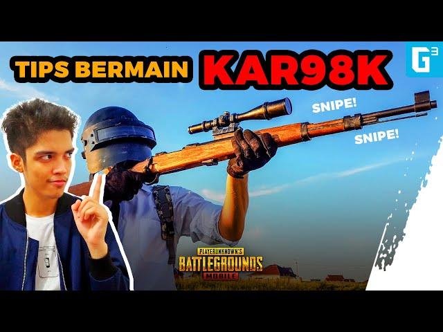 Helm Level 2 Langsung Hilang!? TIPS BERMAIN KAR98K! - Tips PUBG Mobile Indo