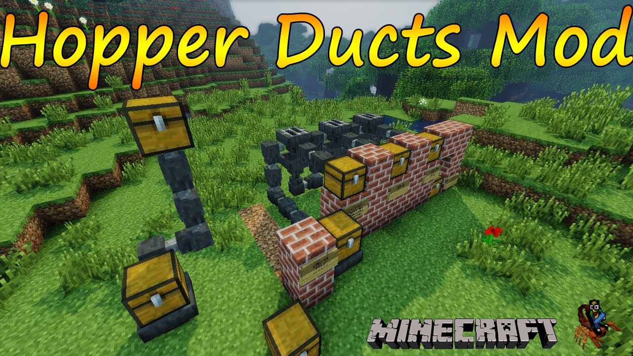 how to make hoppers in minecraft 1.7.10