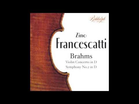 BRAHMS: Symphony No. 2 in D major op. 73 / Francescatti · Ormandy · Philadelphia Orchestra