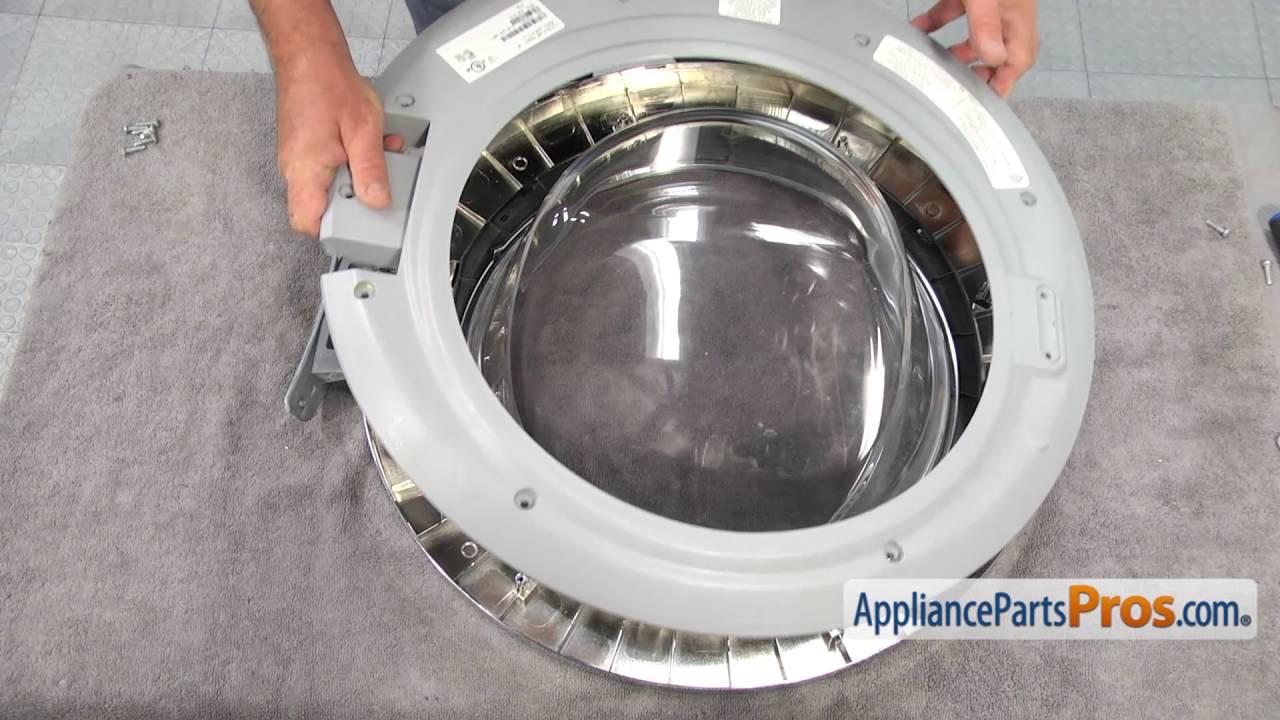 Washer Door Hinge (part #134550800)   How To Replace