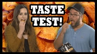 Pumpkin Spice Sweet Potato Chips Taste Test - Food Feeder