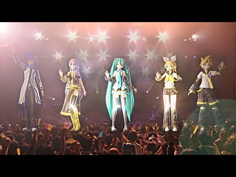 Hatsune Miku Live Party (MikuPa) (Subtitles cc) [FULL HD]