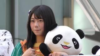 2018年7月21日に開催された『うえの夏まつりパレード2018』にAKB48の若...