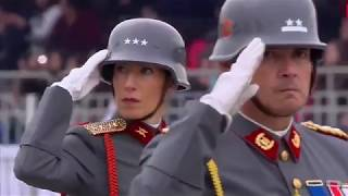 "CHILE'S 2018 Military Parade ""Wehrmacht Parade  Prussian Style"""