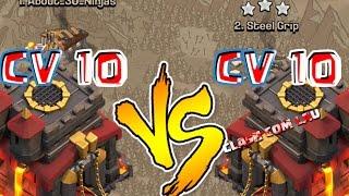 PT cv10 x cv10 Clash of clans