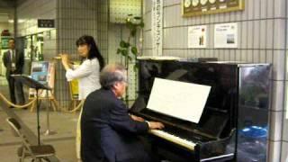 「第6回宮のランチコンサート」ピアノ連弾とフルートコンサート 2