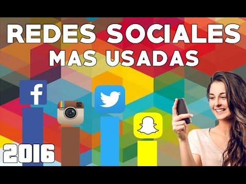 10 Redes Sociales mas usadas 2016 | MendezBlogs