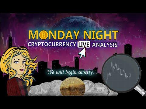 Monday Night Crypto Live – Nic Trades Technical Analysis