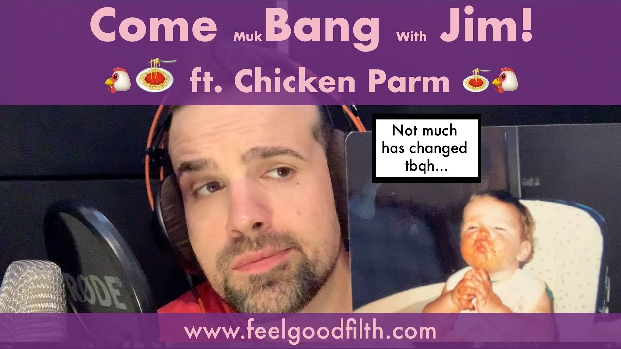ASMR CHICKEN PARM + [PASTA] MUKBANG [BINAURAL] [HQ SOUND] [MALE VOICE] [WHISPER EATING] [FIZZ] 먹방