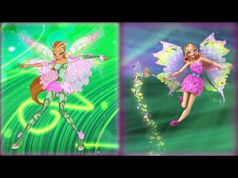 Winx Club: Bloomix - Mythix 2D/3D transformation! [EXCLUSIVE]