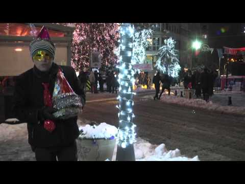 New Year in Istanbul's Taksim