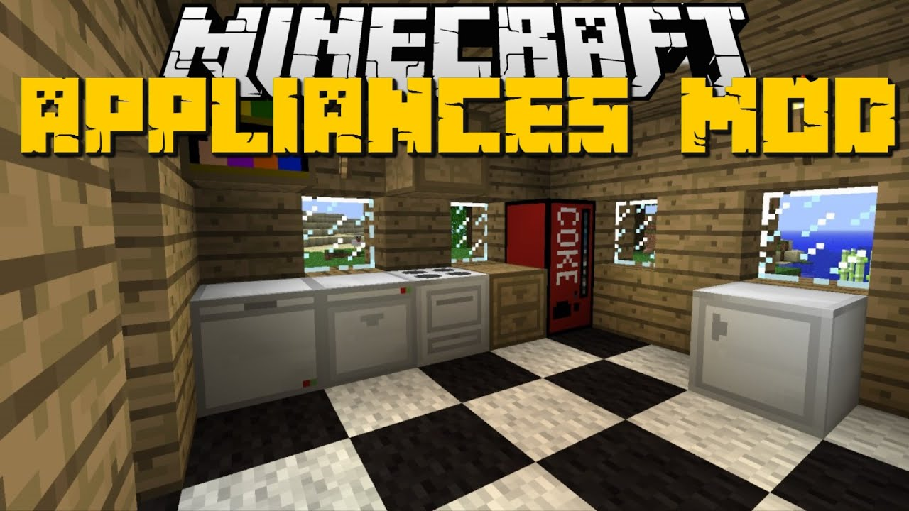 minecraft furniture kitchen minecraft kitchen appliances mod fridge furniture 14198