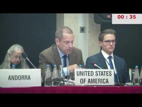 "US representative at OSCE rebukes ""derogatory generalizations"" of Secure Freedom delegation"