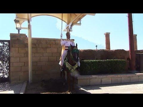 Das Mausoleum von Mohammed V in Rabatt, Marokko,die Reise Erfahrungen Familie A&H PANT