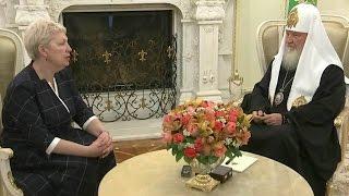 О роли учителя в процессе образования говорили Глава Минобрнауки и Патриарх Кирилл.